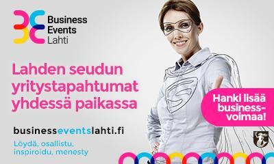 Yritystapahtumat yhdestä paikasta – businesseventslahti.fi avattu