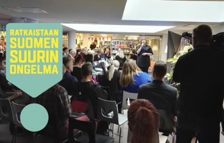 Miten ratkaistaan Suomen suurin ongelma?
