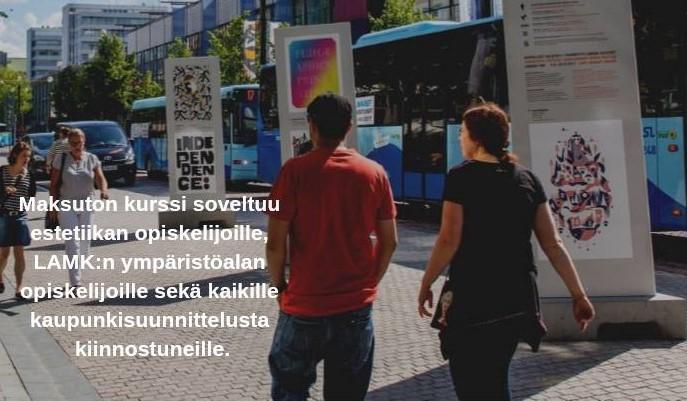 Kaupunkielämän estetiikkaa – tapaus Lahti