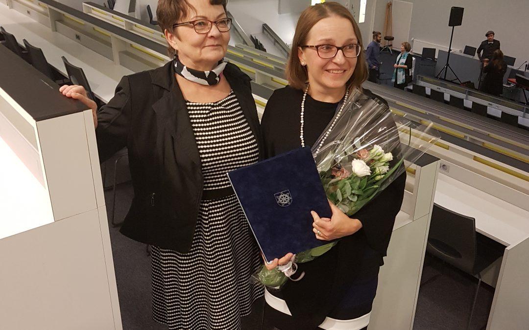 Päijät-Hämeen LUMA-keskus ja Tiedeluokka SOLU vuoden 2018 korkeakouluteko