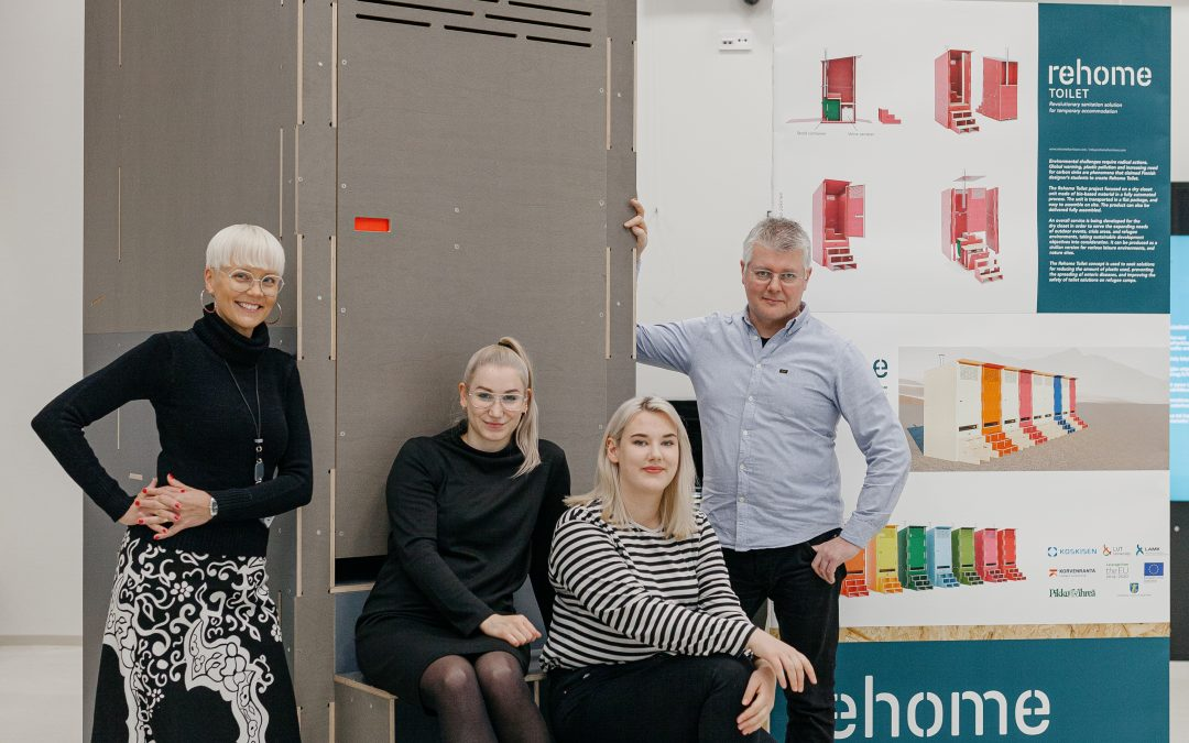 Muotoiluinstituutin REHOME-projekti ja innovatiivinen tulevaisuuden sanitaatioratkaisu REHOME Toilet ovat vuoden 2019 korkeakouluteko!