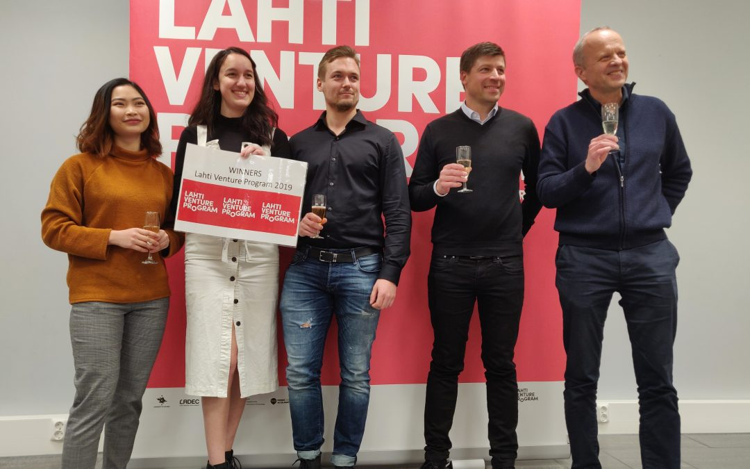 Lahti Venture Programin 2019 voittajaksi JK Pro Coachingin ryhmä