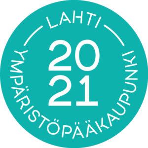 Lahti Ympäristöpääkaupunki 2021 logo
