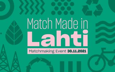Yritys, tule mukaan rekrytoimaan tulevaisuuden osaaja – Match Made in Lahti tapahtuma 30.11.