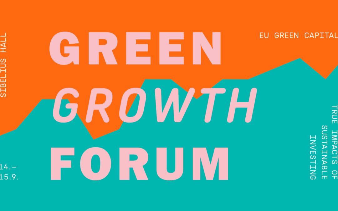 Kestävän kasvun foorumi 14.–15.9.2021 Lahdessa.