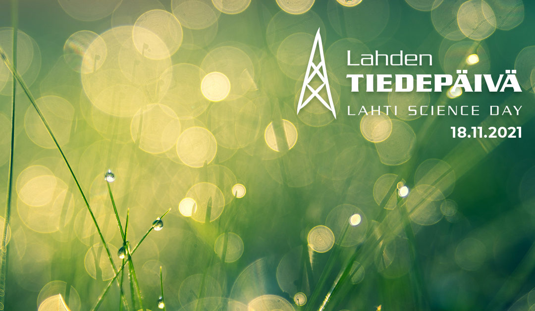 Lahti Science Day will be held on November 18 – Call for Papers is open