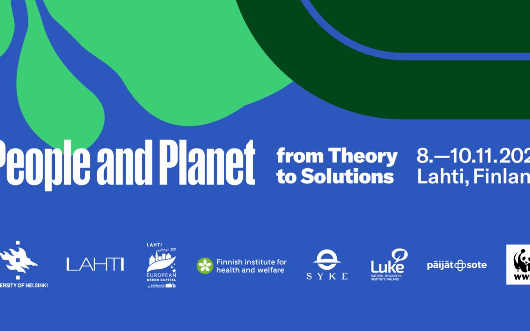 Kansainvälinen konferenssi maapallon ja ihmisen terveyden haasteista 8.-10.11.2021